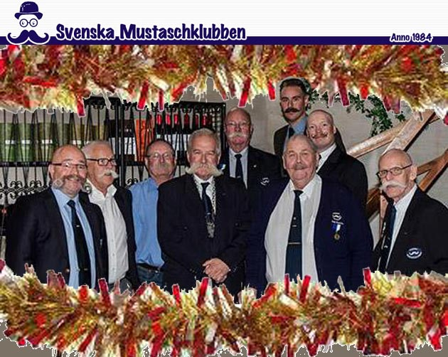 Christmas Greetings from Sweden's Svenska Mustaschklubben