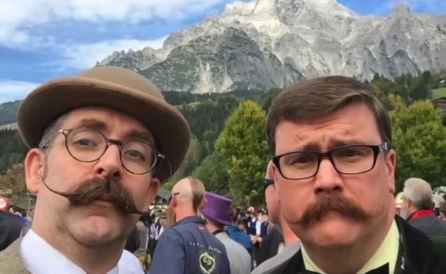 Off to Leogang we go for The World Beard & Moustache Championships 2015 - Click here to play